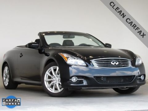 Pre-Owned 2013 INFINITI G37  RWD 2D Convertible