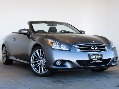 Pre-Owned 2011 INFINITI G37  RWD 2D Convertible